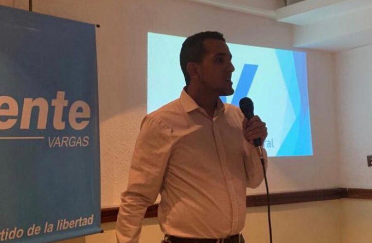 Vente Vargas denuncia que crisis eléctrica se profundiza