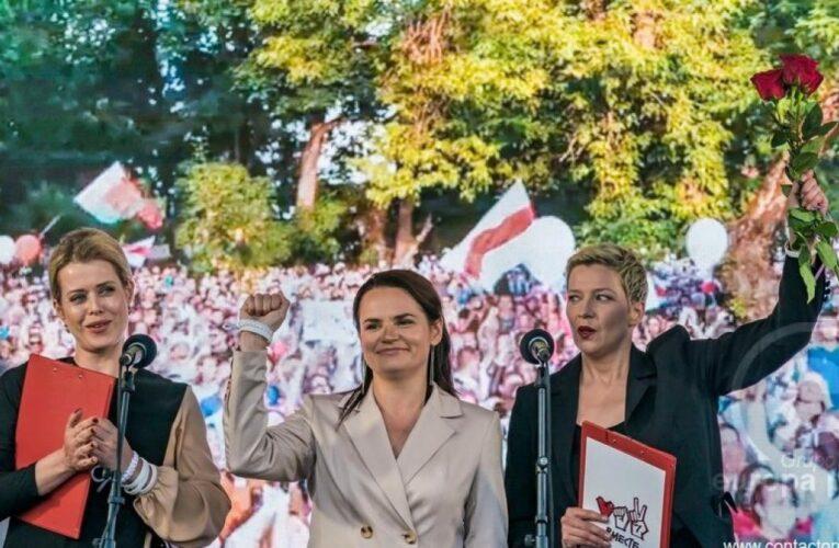 Oposición a Lukashenko gana premio Sájarov
