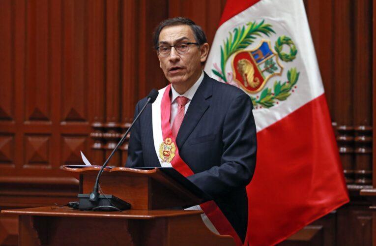 Congreso de Perú pospone decisión sobre destitución de Vizcarra
