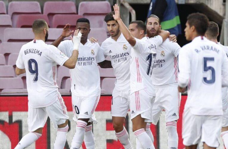 Real Madrid domnó 3-1 al Barcelona