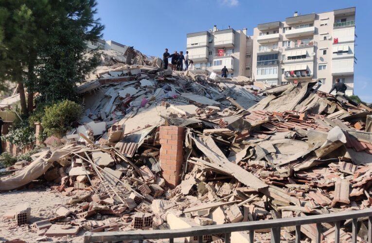 Terremoto de casi 7 grados sacude Turquía y Grecia