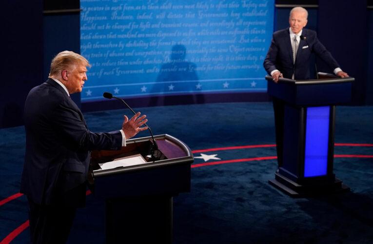Trump podría volver a ganar con menos votos que Biden