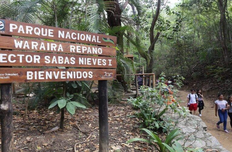 Más de 75 mil personas visitaron parques nacionales