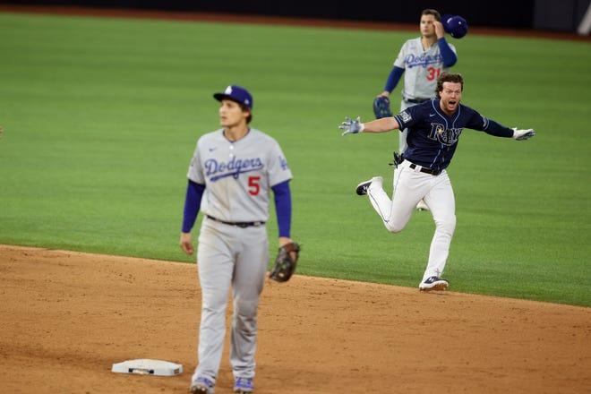 Tampa Bay dejó en el terreno a los Dodgers