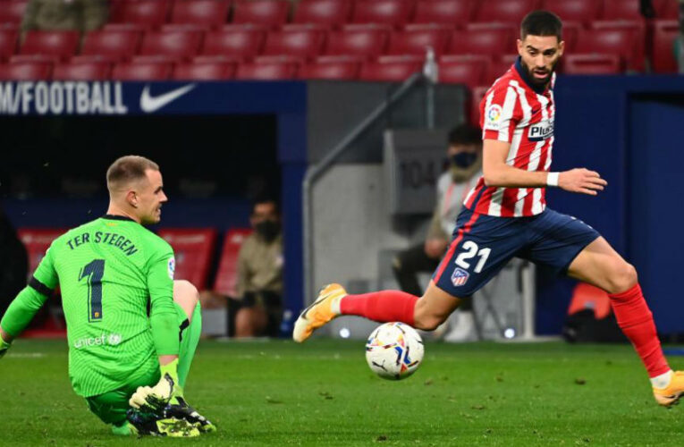 Atlético Madrid derrotó al Barcelona