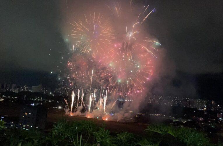 FANB celebró con fuegos artificiales