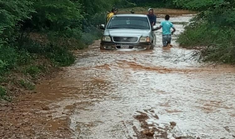 Lluvias en Falcón dejan más de 7.000 familias en riesgo