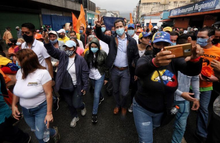 Guaidó visitó Los Teques