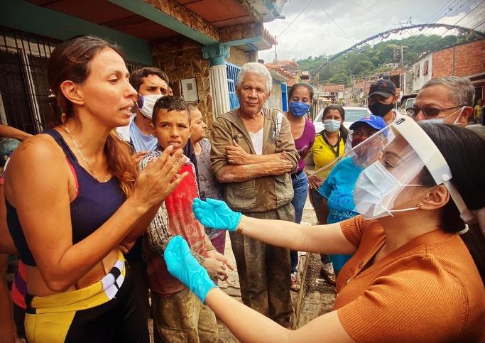 Gobernadora del Táchira pide auxilio internacional