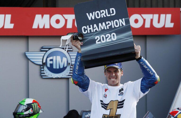 Joan Mir se corona en MotoGP
