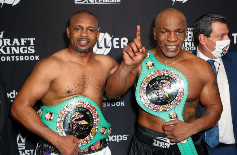 El regreso de Tyson termina en empate