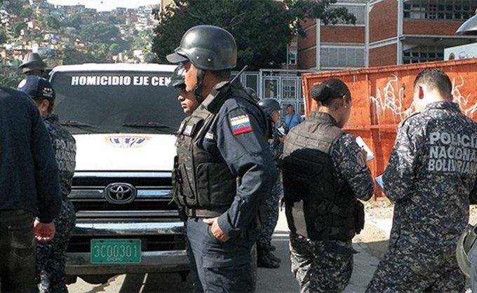 Delincuentes matan a PNB y huyen hacia la Cota 905