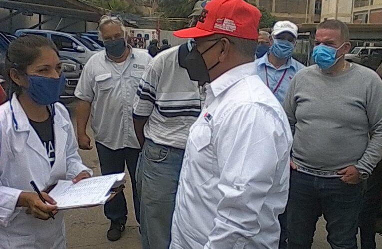 Ministro Reverol supervisó planta termoeléctrica Tacoa