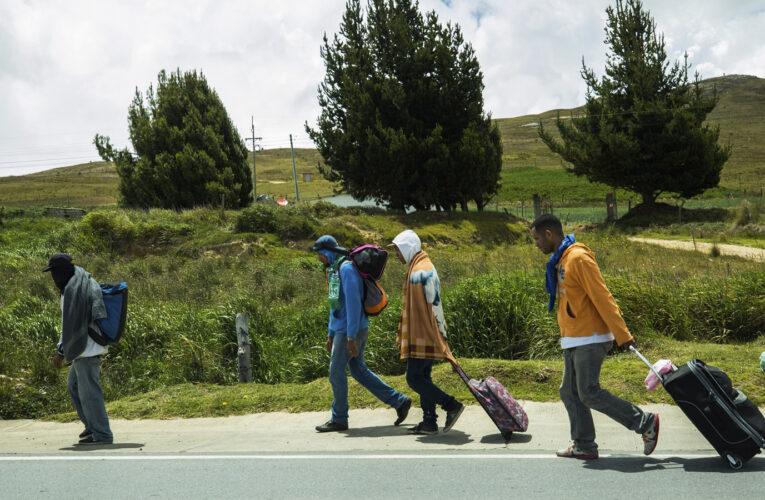 Cifra de migrantes venezolanos en Colombia bajó un 5,8%