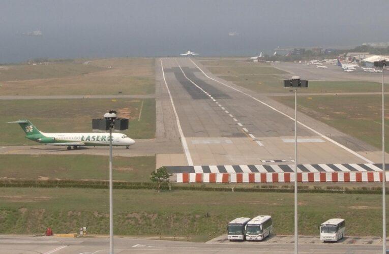 INAC extendió prohibición de vuelos hasta febrero