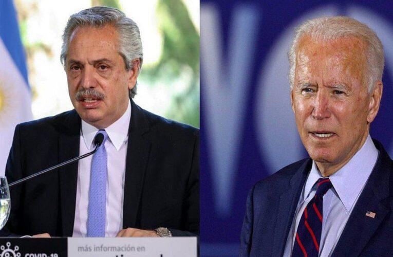 Fernández y Biden hablan sobre integración americana