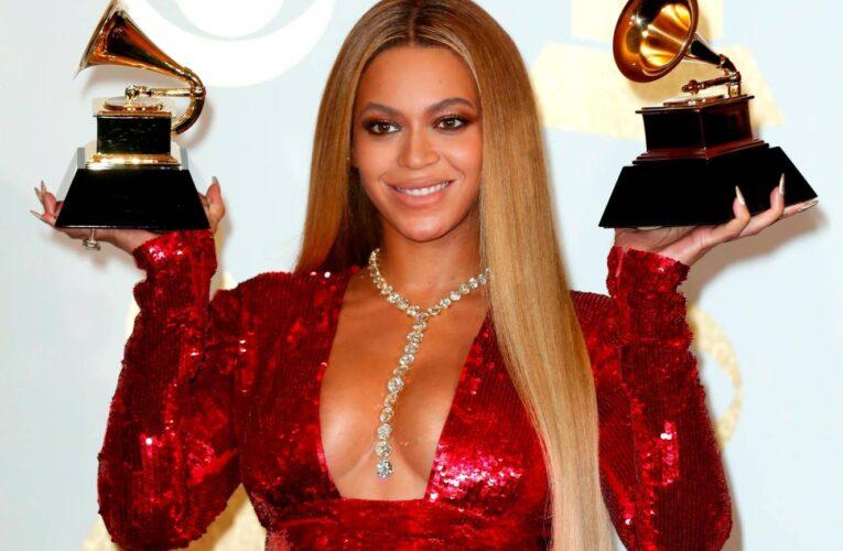 Beyoncé bate un récord en los Grammys