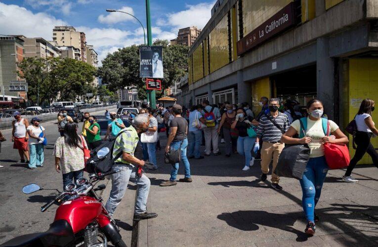 Más de 102 mil contagios en Venezuela