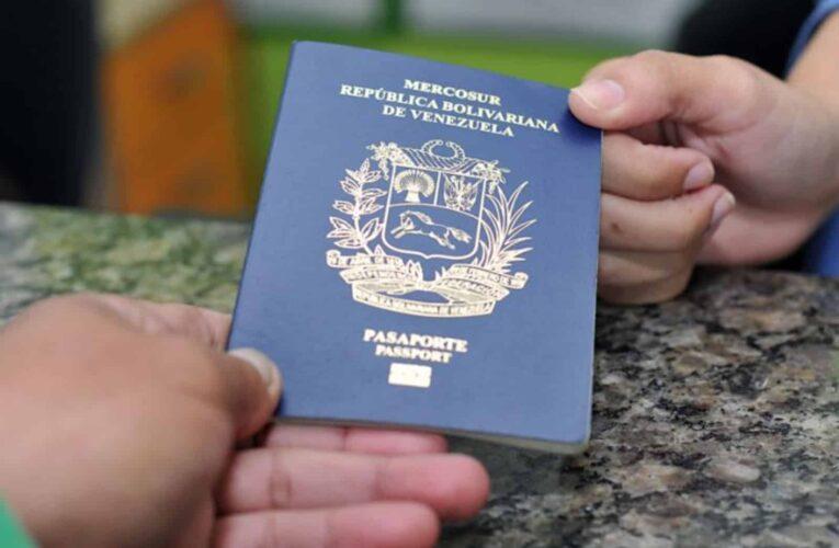 Saime avisará por correo fecha de retiro de pasaportes