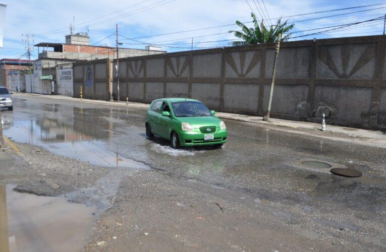 En Zamora colapsó la red de aguas servidas