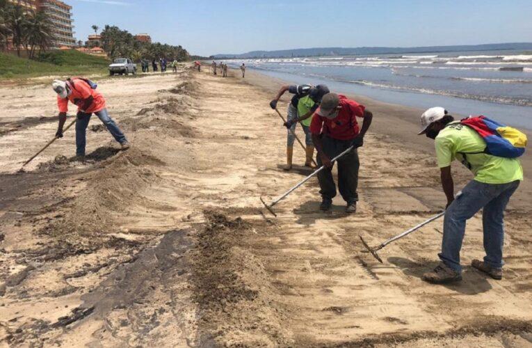 MinEcosocialismo: Se recolectó 99% del crudo derramado en Morrocoy