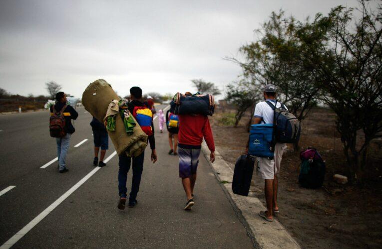 """Acnur insta a """"superar la indiferencia"""" ante migrantes venezolanos"""