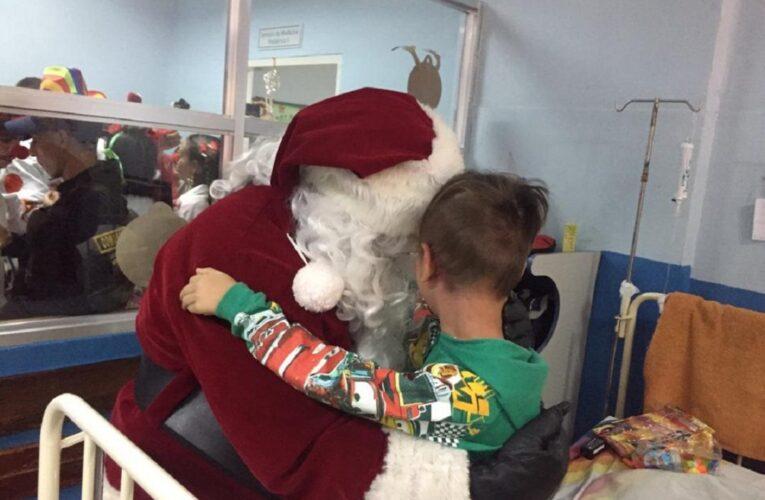 Niños hospitalizados recibirán obsequios navideños