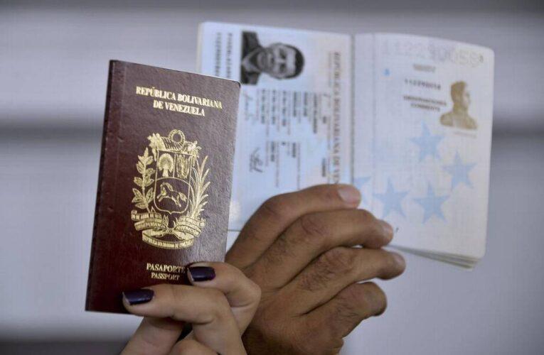 Venezolanos con 2 prórrogas podrán optar por un pasaporte nuevo de 10 años