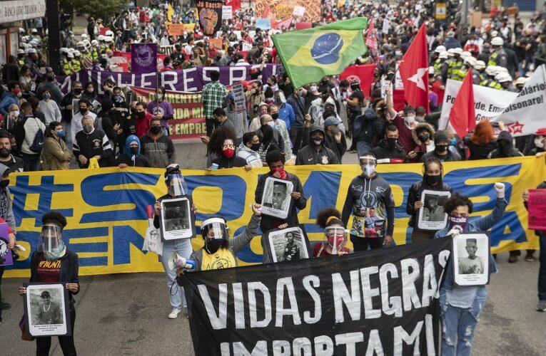 Protestas en Brasil por asesinato de hombre negro