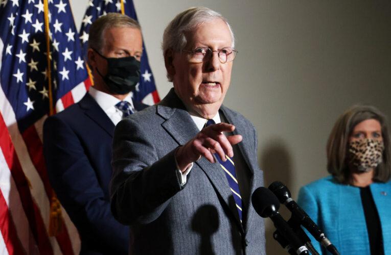 """Líder republicano en el Senado: habrá traspaso """"ordenado"""" de poder"""