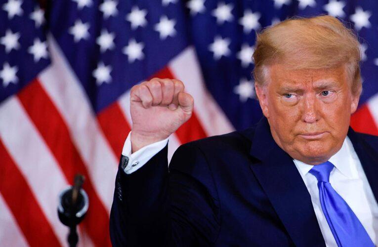 Trump dice que ganó e irá a la Corte para evitar un fraude