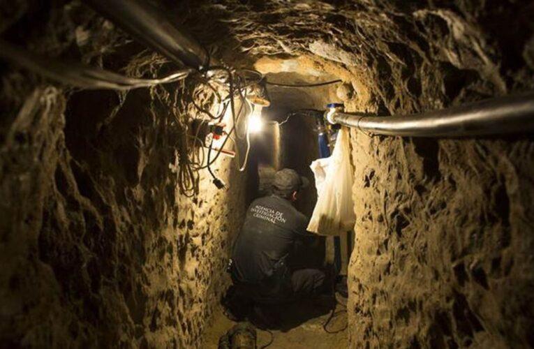 Descubren en México túnel cavado para robar $30 millones