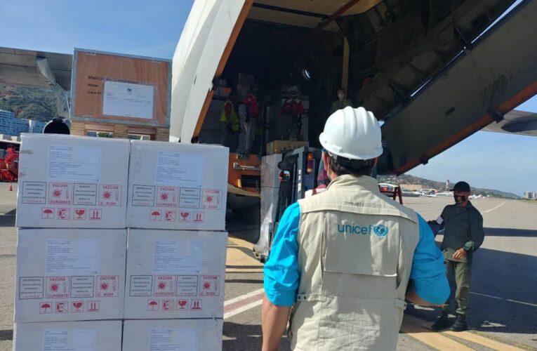 Llegaron 32 toneladas de ayuda humanitaria