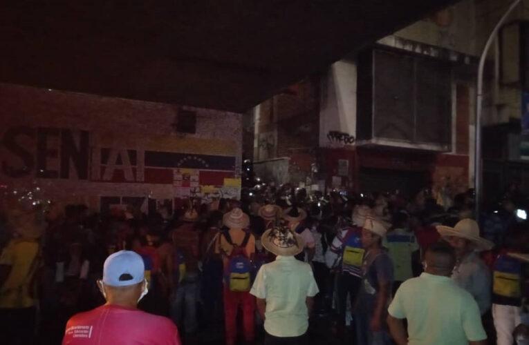 4 indígenas Yukpa heridos deja protesta cerca de Miraflores
