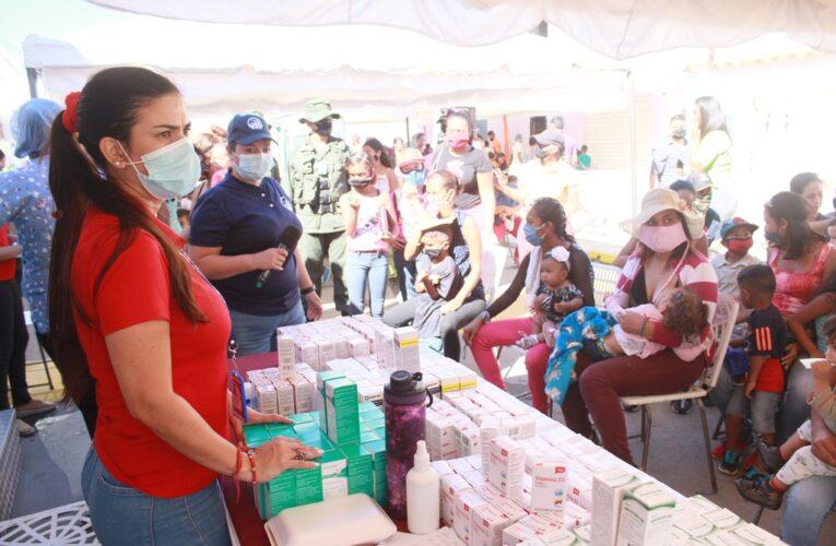 Atendieron a 2.208 familias en Taguao, Las Salinas y Puerto Carayaca