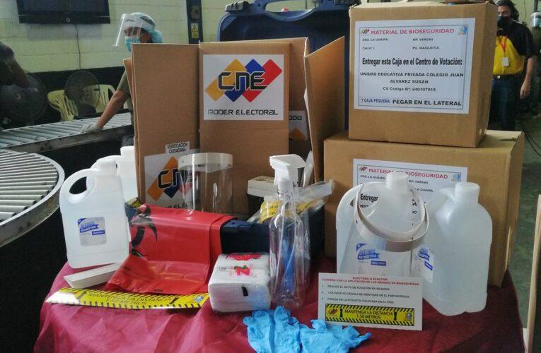 CNE desplegó cotillones electorales