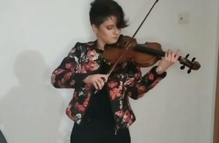 Violinista venezolana gana en el International Youth Music Festival