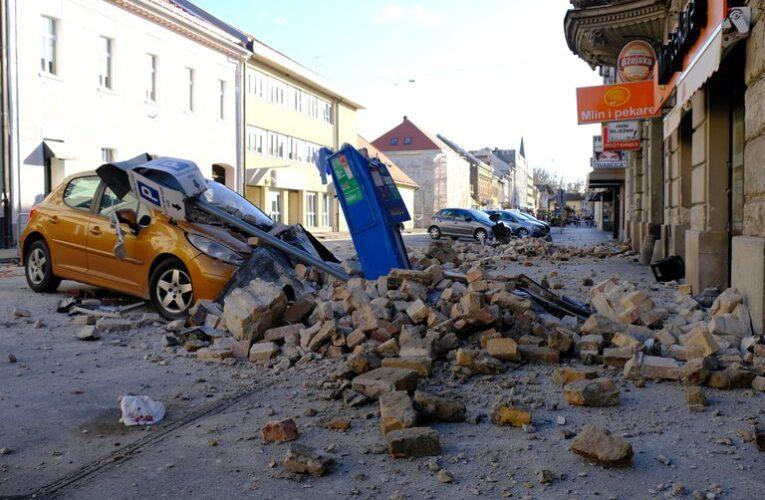 Una niña murió tras sismo de 6,2 en Croacia