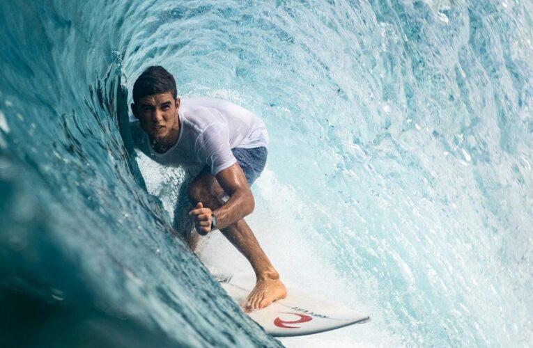 López correrá las olas en El Salvador
