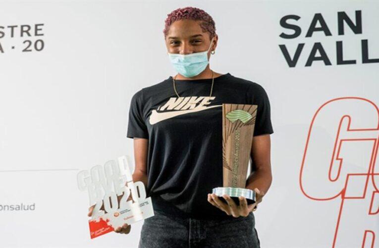 Yulimar Rojas premiada en España con el Silvestre del Año