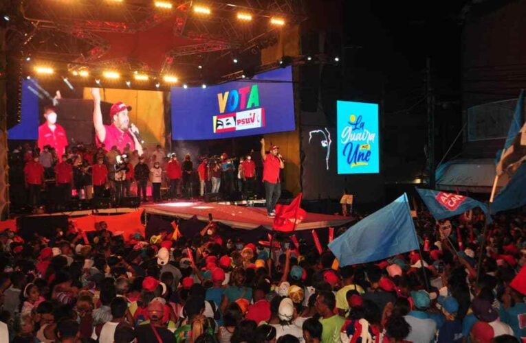 Maduro Guerra: El 6D debe haber un huracán chavista de votos