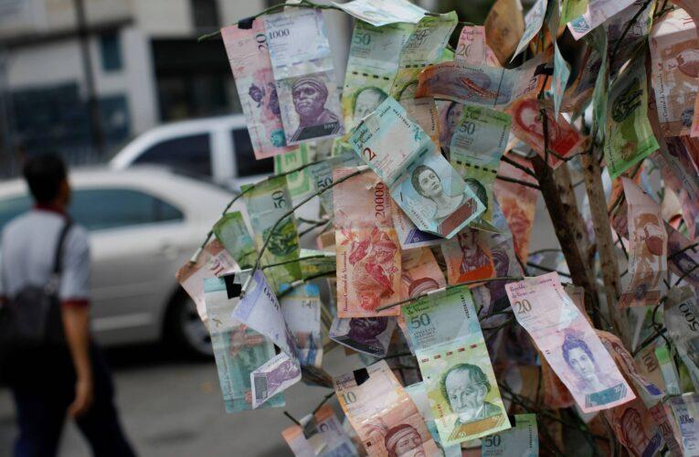 El bolívar se devaluó 50,90% en noviembre