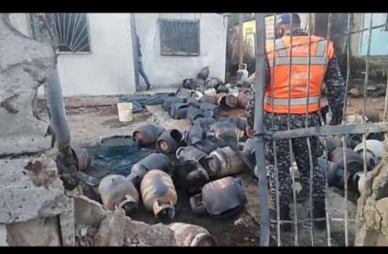Más de 45 heridos deja explosión de bombonas en Monagas