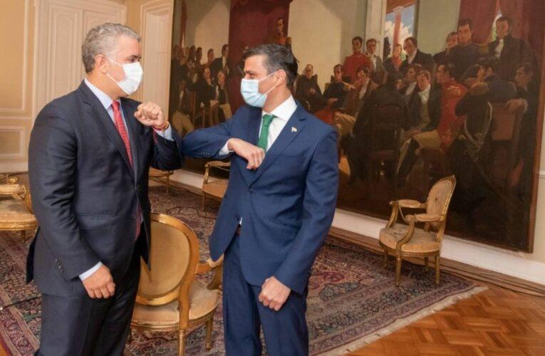 Leopoldo López inició en Colombia gira contra Maduro