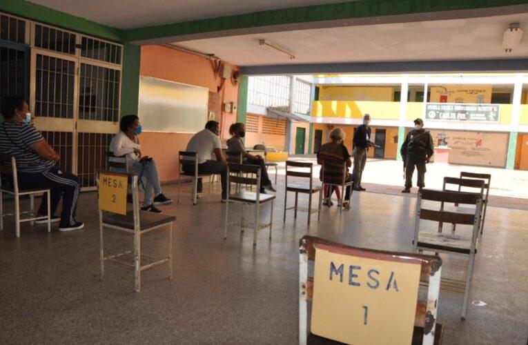 En La Guaira participó el 40,09% de los electores