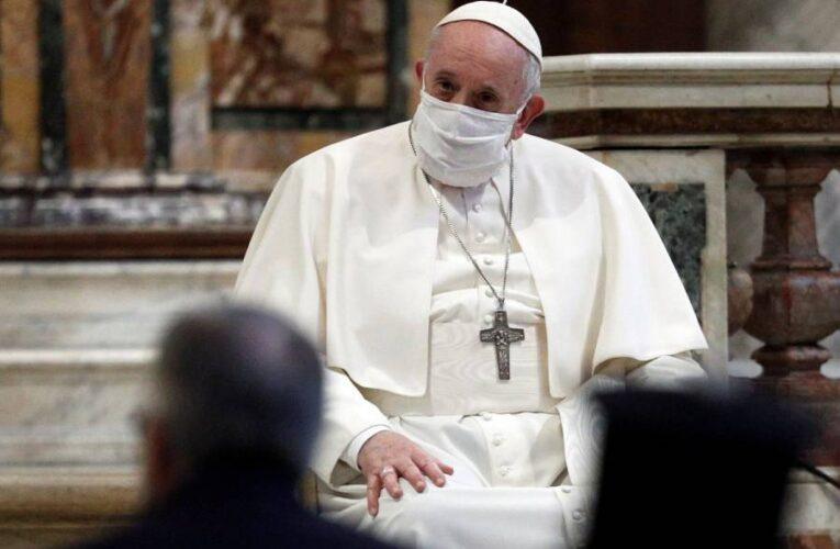 El papa donó ventiladores pulmonares a niños venezolanos