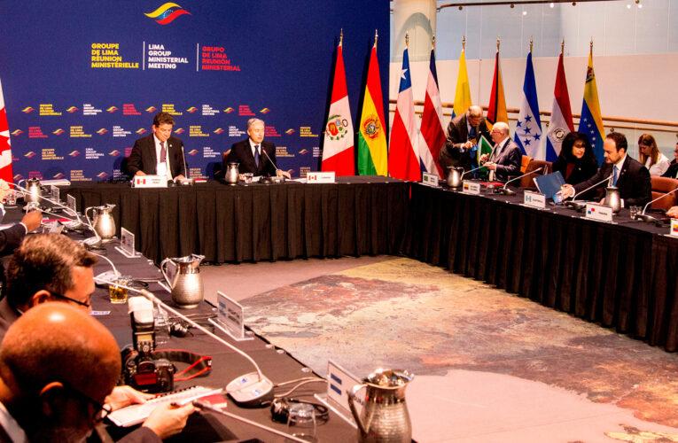 Grupo de Lima rechaza los resultados del 6D