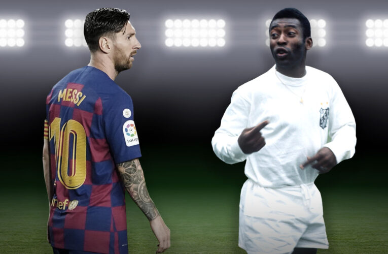 Messi igualó récord de Pelé
