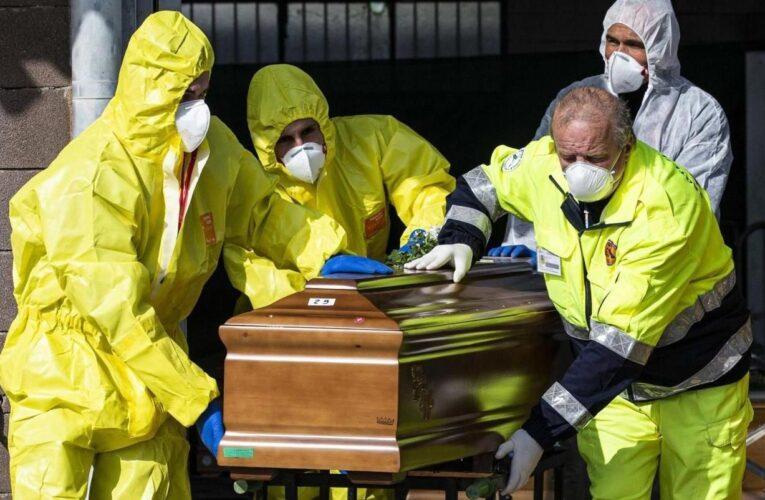 EEUU: Más de 15.000 muertes por covid en una semana