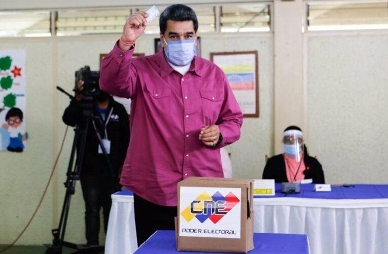 Presidente Maduro: Con el voto estamos haciendo justicia